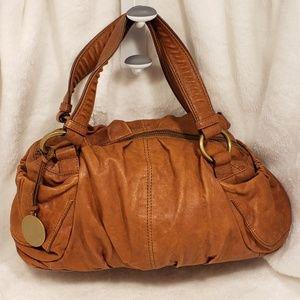 UGG Tan Soft Leather Hobo Bag